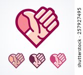 This vector illustration of a thumbs up inside a heart is perfect for showing double the love.