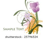 abstract illustration with... | Shutterstock .eps vector #25796524