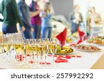 banquet event. table with the... | Shutterstock . vector #257992292