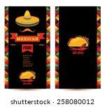 vector design template for... | Shutterstock .eps vector #258080012