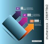 arrow vector conception | Shutterstock .eps vector #258097862