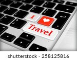 Travel Concept. Keyboard Of...