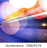 traffic background. blurred... | Shutterstock . vector #25819174