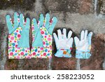 Garden Gloves With Flowers  ...