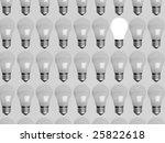 collage of light bulbs   Shutterstock . vector #25822618