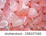 Heart Shaped Rose Quartz  Hard...