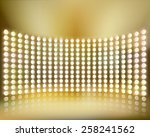 light show. vector illustration. | Shutterstock .eps vector #258241562