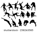 vector illustration of male... | Shutterstock .eps vector #258263585
