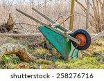 Upside Down Wheelbarrow Leanin...