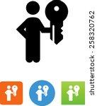 administrator icon | Shutterstock .eps vector #258320762