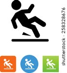 slip symbol for download.... | Shutterstock .eps vector #258328676