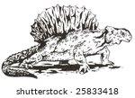 edafosaurus dino | Shutterstock . vector #25833418
