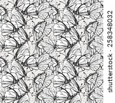 seamless grunge pattern with...   Shutterstock .eps vector #258348032