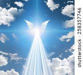 angel winged | Shutterstock . vector #258357746