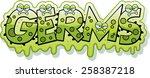 a cartoon illustration of the... | Shutterstock .eps vector #258387218