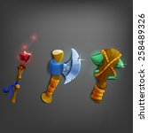 cartoon weapons for games....