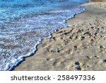 Maria Pia Beach Shoreline On A...