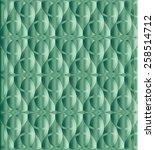caribbean green celtic knot... | Shutterstock .eps vector #258514712