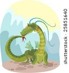 vector illustration of a magic... | Shutterstock .eps vector #25851640