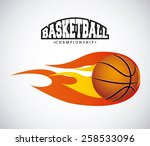 basketball sport design  vector ... | Shutterstock .eps vector #258533096