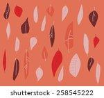 leaves | Shutterstock .eps vector #258545222