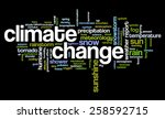 word cloud with words related... | Shutterstock .eps vector #258592715