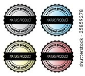set of vector labels | Shutterstock .eps vector #25859278