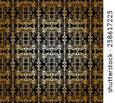 seamless geometric pattern....   Shutterstock .eps vector #258617225