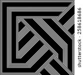 Black And White Pattern Vector...