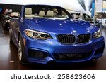 Постер, плакат: BMW M4 CONVERTIBLE at