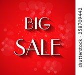 sale background illustration ... | Shutterstock .eps vector #258709442