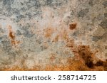 Old Metal Iron Rust Background...
