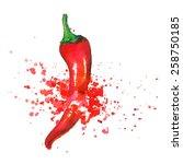 pepper | Shutterstock .eps vector #258750185