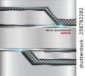 metal background.vector... | Shutterstock .eps vector #258782282