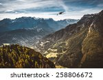 eagle in mountains | Shutterstock . vector #258806672