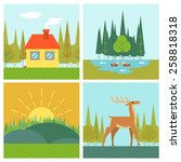 nature landscapes outdoor life...   Shutterstock .eps vector #258818318