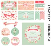 scrapbook design elements  ... | Shutterstock .eps vector #258819815