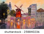 Oil Painting Cityscape   Mouli...