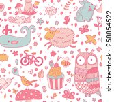 Funniest Seamless Pattern With...