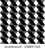 black and white geometric... | Shutterstock .eps vector #258897335