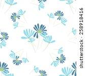 flowers seamless pattern.bright ... | Shutterstock .eps vector #258918416