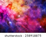 galaxy   elements of this image ... | Shutterstock . vector #258918875