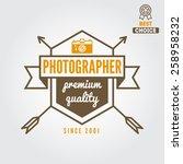 logo  emblem  print  sticker ...   Shutterstock .eps vector #258958232