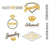 set of logo  emblem  label ... | Shutterstock .eps vector #258962456