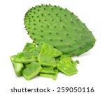 Green Cactus Leaves  Food