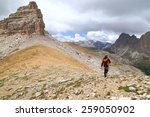 meisules plateau with scattered ... | Shutterstock . vector #259050902