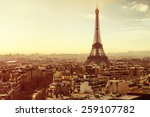 paris | Shutterstock . vector #259107782