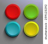 simple banner vectors | Shutterstock .eps vector #259123292