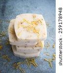 handmade natural bars of soap | Shutterstock . vector #259178948