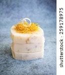 handmade natural bars of soap | Shutterstock . vector #259178975